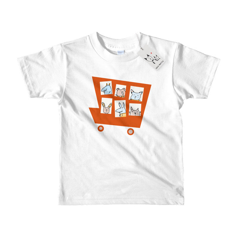 Carla Martell | Marvellous Monster Truck Kids Tee | White