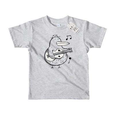 Carla Martell | Mr Music Kiwi Kids T Shirt | Heather