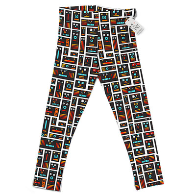 Carla Martell | Robot Friends Kids Leggings