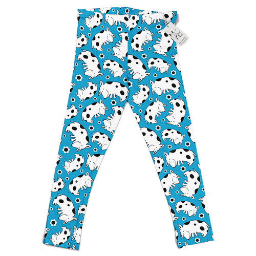 Carla Martell | Silly Spotted Dog Kids Leggings