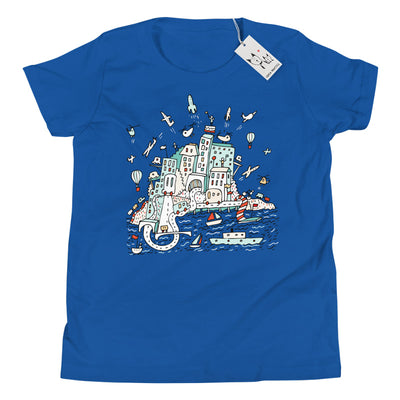 Transport City Big Kids Tee