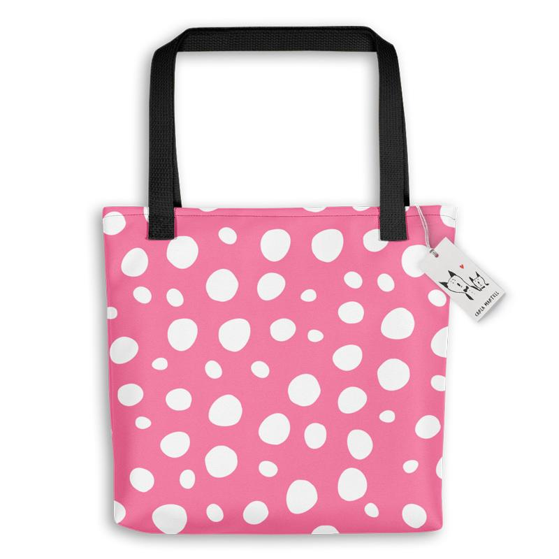 Carla Martell | Bunny Bag with Spots | Pink