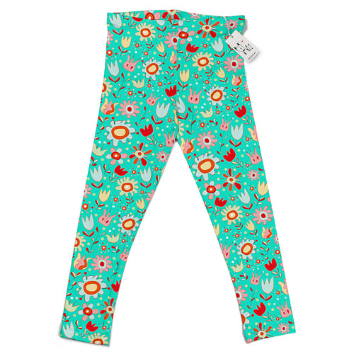 Scruffcat | Wild Flowers Kids Leggings