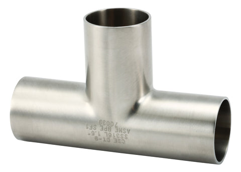 7W-Tee Equal Long Weld Ends