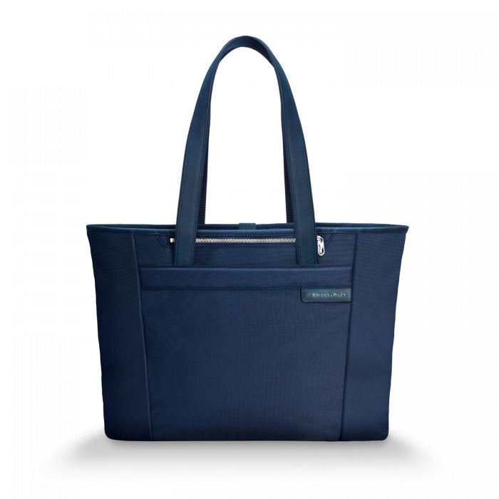 BASELINE COLLECTION - LARGE SHOPPING TOTE - NAVY