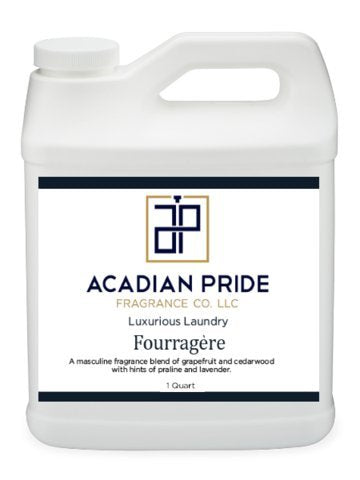 ACADIAN PRIDE FRAGRANCE - 1 QUART LUXURIOUS WASH - FOURRAGERE SCENT(With BONUS PEARSONS STAIN REMOVER PEN)