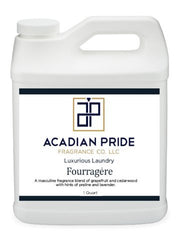 Acadian Pride Fragrance - 1 Quart Luxurious Wash - Fourragere (With BONUS Pearsons Stain Remover Pen)