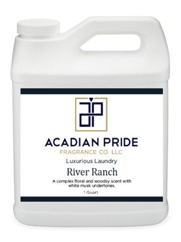 ACADIAN PRIDE FRAGRANCE - 1 QUART LUXURIOUS WASH - RIVER RANCH(With BONUS PEARSONS STAIN REMOVER PEN)