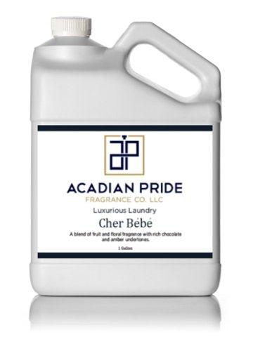 ACADIAN PRIDE FRAGRANCE - 1 QUART LUXURIOUS WASH - CHER BEBE(With BONUS PEARSONS STAIN REMOVER PEN)