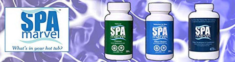 Spa Marvel Water Treatment & Conditioner Cleanser, Filter Cleanser (With FREE Pearsons Scumball)