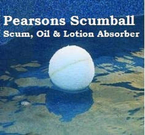 Pool Frog Chlorine Bac Pac 3-Pack-(Free PEARSONS SCUMBALL Included)