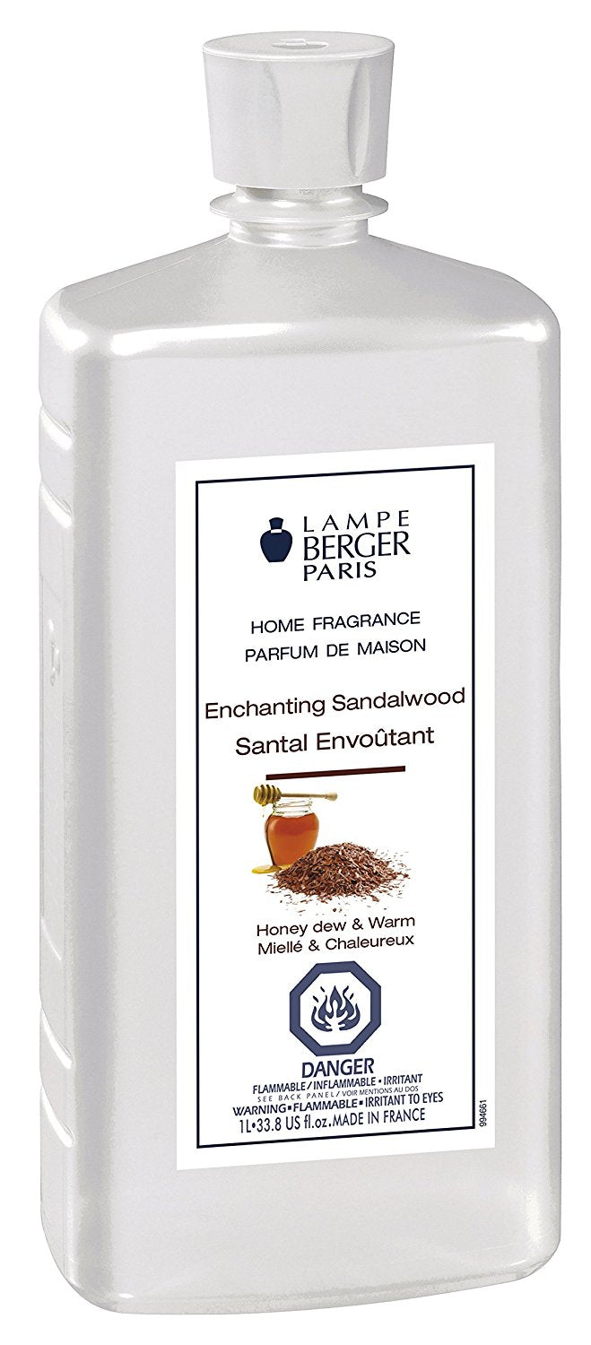 Lampe Berger Fragrance - 1L / 33.8oz. -Enchanting Sandalwood