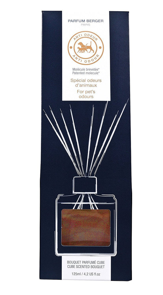 Parfum Berger - Anti Odor Reed Diffuser Cube Set - Pet's, 402 Ounce