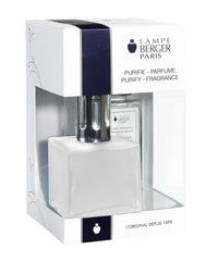 Lampe Berger Lamp Gift Set - Frosted Cube, Includes Fragrance Ocean Breeze 180ml / 6.08 fl.oz.