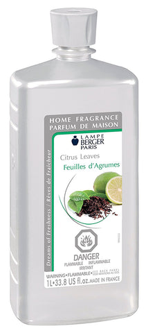 Lampe Berger Fragrance - 1L / 33.8oz - Citrus Leaves