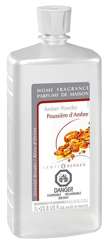 Lampe Berger Fragrance - 1L / 33.8oz. - Amber Powder