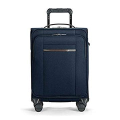 BASELINE COLLECTION - INTERNATIONAL CARRY-ON EXPANDABLE WIDE BODY SPINNER - NAVY