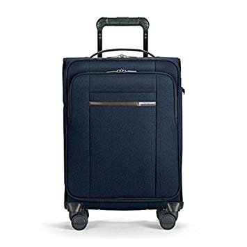 BASELINE COLLECTION - DOMESTIC CARRY ON EXPANDABLE SPINNER - NAVY