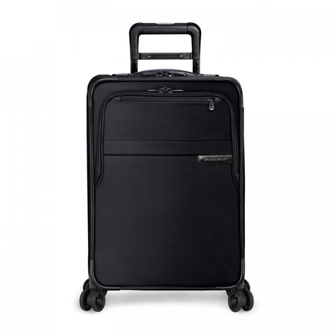 BASELINE COLLECTION - DOMESTIC CARRY ON EXPANDABLE SPINNER - BLACK