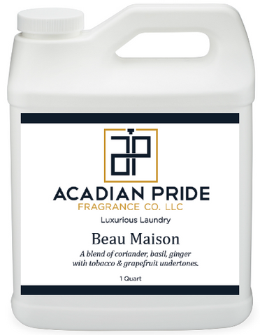 Acadian Pride Fragrance - 1 Quart Luxurious Wash - Beau Maison (With BONUS Pearsons Stain Remover Pen)