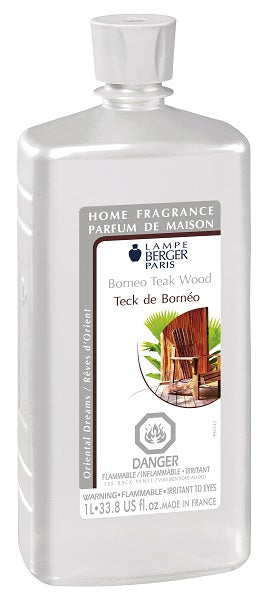 Lampe Berger Fragrance - 1L / 33.8oz - Borneo Teak Wood