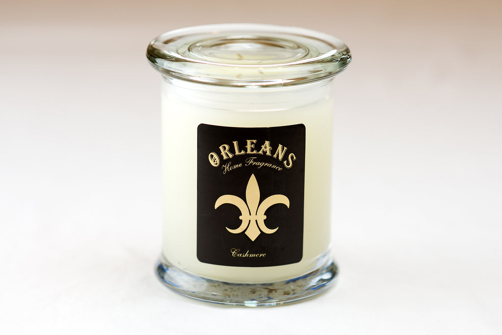 ORLEANS - ELITE CANDLE - CASHMERE - 11 OZ.(With BONUS PEARSONS STAIN REMOVER PEN)