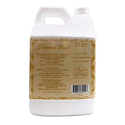 TYLER Half Gallon/ 64oz Glam Wash Laundry Detergent, HIGH MAINTENANCE - (With BONUS PEARSONS STAIN REMOVER PEN)