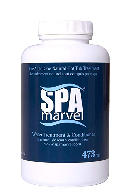 Spa Marvel Water Treatment & Conditioner 16 fl oz - (With FREE Pearsons Scumball)