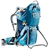 DEUTER KID COMFORT - 2 FRAMED CHILD CARRIER FOR HIKING - ARTIC/DENIM - 4651433180