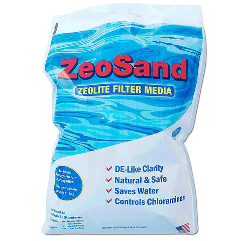 ZeoSand Alternative Pool Sand Filter Media - 100 Pounds