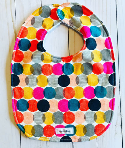 Colorful Dots Bib