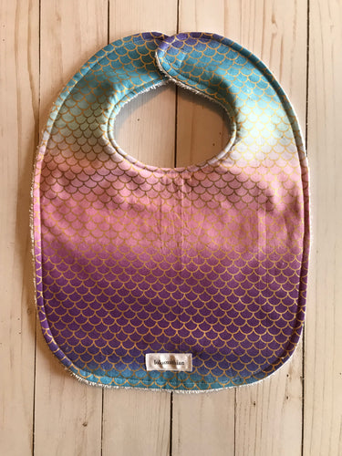 Mermaid Scale Bib