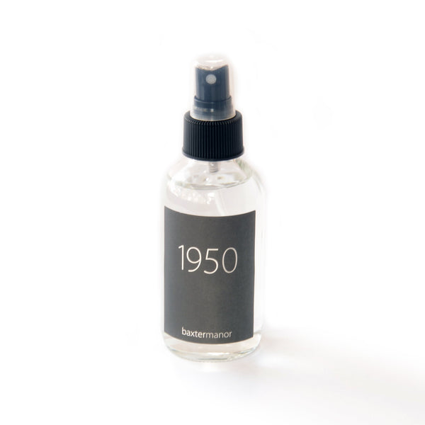 1950 #OurHistoryCollection Room and Linen Spray by Baxter Manor - angelo:HOME