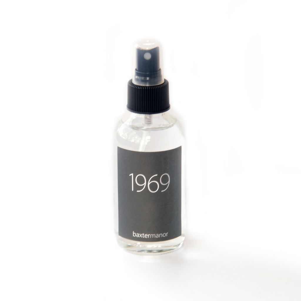 1969 #OurHistoryCollection Room and Linen Spray by Baxter Manor - angelo:HOME
