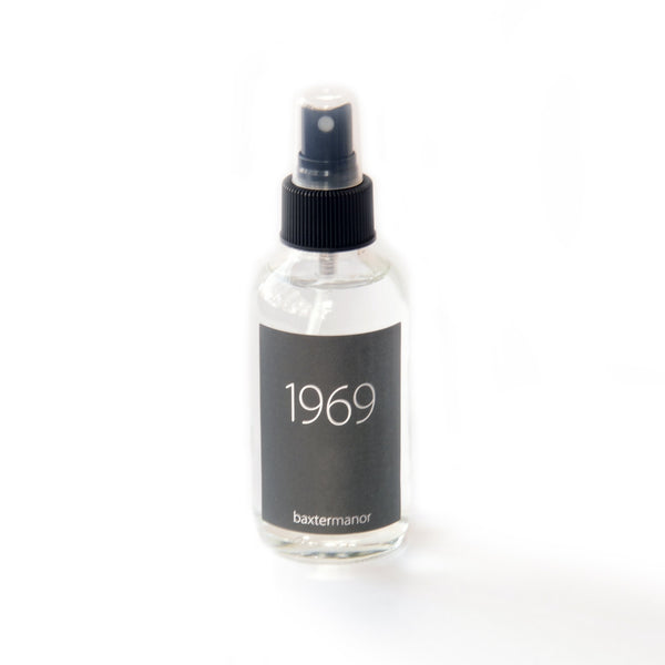[color] 1969 #OurHistoryCollection Room and Linen Spray by Baxter Manor [variant]