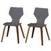 angelo:HOME Dining Chairs - Bari Bentwood set of 2 (grey) - angelo:HOME