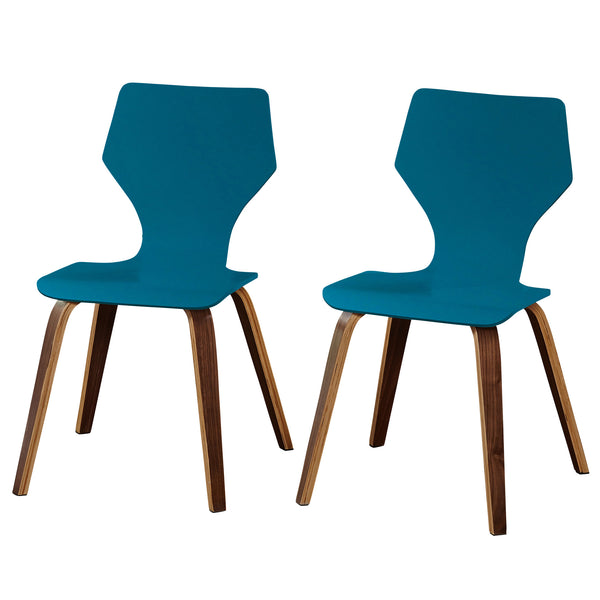 angelo:HOME Bentwood Chairs in Turquoise (set of two)