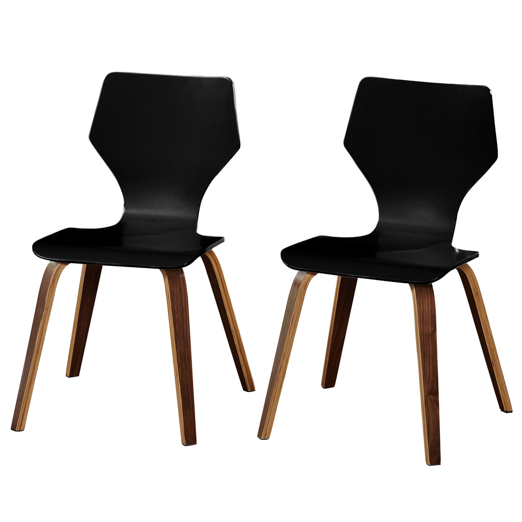 angelo:HOME Bentwood Chairs in Black (set of two)