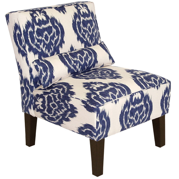 Armless Chair in Diamond Blue - angelo:HOME