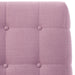 angelo:HOME Button Tufted Accent Chair in Linen Lavender