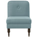 angelo:HOME Accent Chair With Button in Linen Seaglass - angelo:HOME