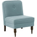angelo:HOME Accent Chair With Button in Linen Seaglass