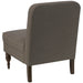 angelo:HOME Accent Chair With Button in Linen Slate