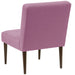 angelo:HOME Button Tufted Modern Chair in Linen Lavender - angelo:HOME