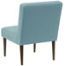 angelo:HOME Button Tufted Modern Chair in Linen Seaglass