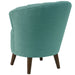 angelo:HOME Channel Seam Barrel Chair in Linen Laguna