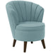 angelo:HOME Channel Seam Barrel Chair in Linen Seaglass - angelo:HOME