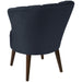 angelo:HOME Channel Seam Barrel Chair in Mystere Eclipse Velvet