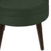angelo:HOME Channel Seam Barrel Chair in Mystere Jade Velvet