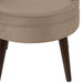 angelo:HOME Channel Seam Barrel Chair in Mystere Mondo Velvet - angelo:HOME